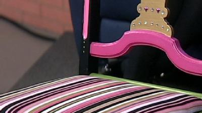 One-Of-A-Kind Chair Being Auctioned Off For Breast Cancer Awareness