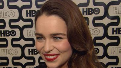 Golden Globes 2013 HBO After-Party: Emilia Clarke Dishes On 'Holly Golightly' And 'Game Of Thrones'