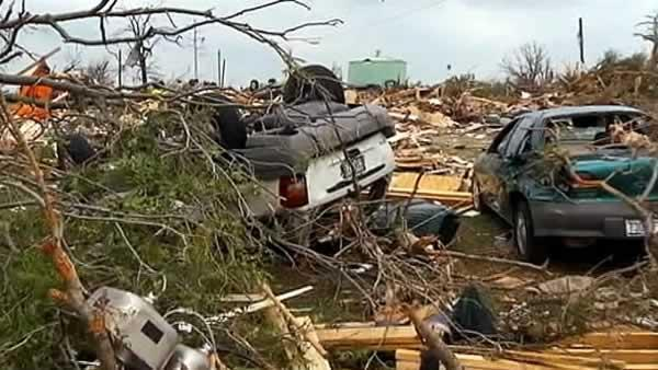 Residents missing after TX tornadoes found safe