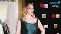 Christina Hendricks' Signature Red Lips on 'Mad Men' Are Actually Pink