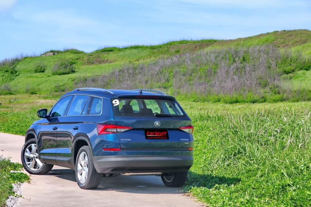 家庭用車本該如此,Skoda kodiaq大展實用貼心印象