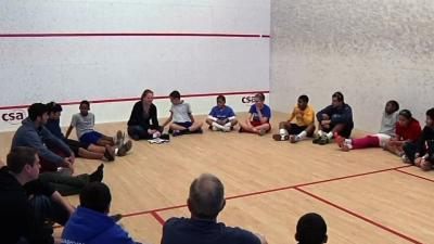 SquashSmarts Promotes Brains, Brawn