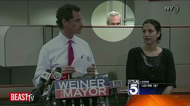 `Cubicle Guy` Steals the Show at Weiner News Conference