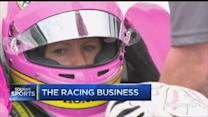 Mann behind the wheel at Indy 500
