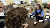 Tense Standoff in Kentucky Over Gay Marriage