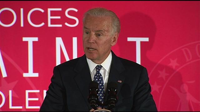 Biden: Abused women fear getting