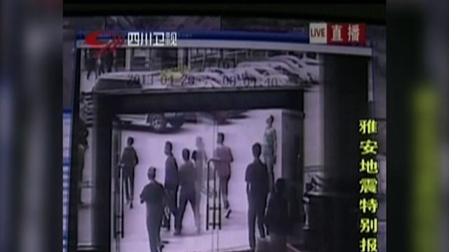 Raw: China Quake Leaves Dozens Dead