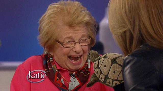 Dr. Ruth Talks About Her Life and Her Love of Turtles