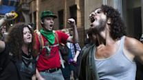 Dozens arrested at Occupy protest in NY