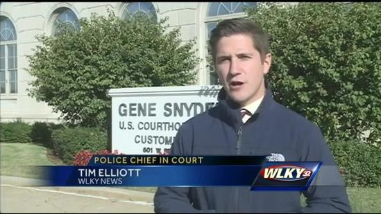 Police chief adamantly denies lying to authorities