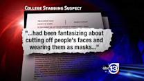 Documents reveal much darker side of stabbing suspect