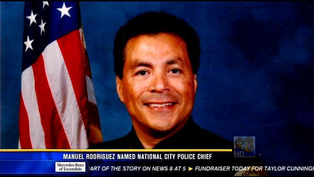 Manuel Rodriguez named National City police chief