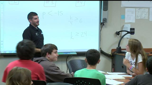 Math Teacher Is Step Closer To Racing Dream