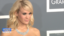 Carrie Underwood Takes a Nasty Tumble On Stage