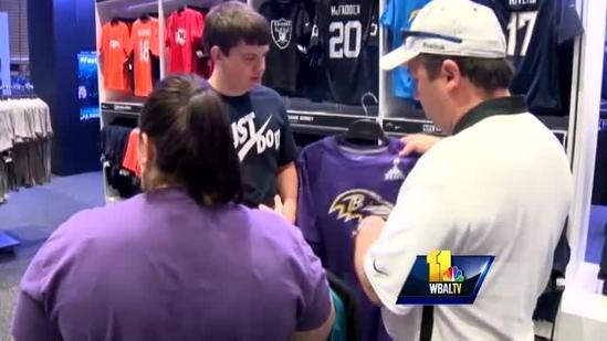 Ravens fans engulfed with New Orleans experience