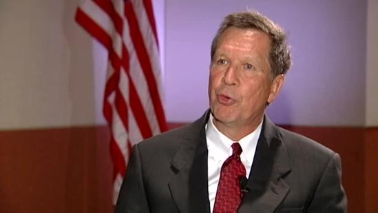 Raw interview: Gov. Kasich speaks with WLWT News 5's John London