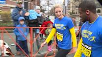 Boston Marathon bombing amputee makes improbable journey