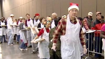 Hundreds Take Part In Holiday Tradition